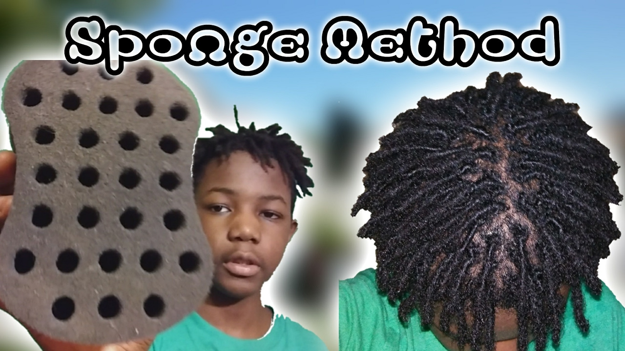 HOW TO GET DREADLOCKS WITH A SPONGE  YouTube