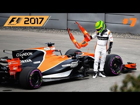 F1 2017 // 🇨🇦 S01R07: KANADA-MONTREAL // McLAREN HONDA KARRIER