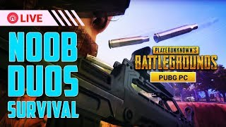 Day #3 in PUBG PC Noob Duos try to survive || Coc Clashers
