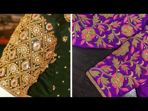 Awesome Embroidery Work Blouse Designs 2018 Blouse Designs For Silk Saree Blouse Designs Bridal Youtube,Design Of Experiments Software