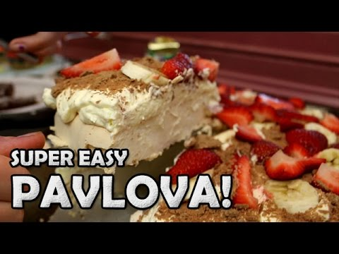 Cooking with Amy & Ziggy: Super Easy Pavlova Dessert! - Great for ...