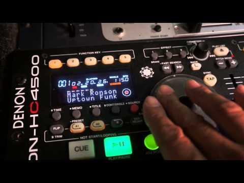 Denon Controller and CD player