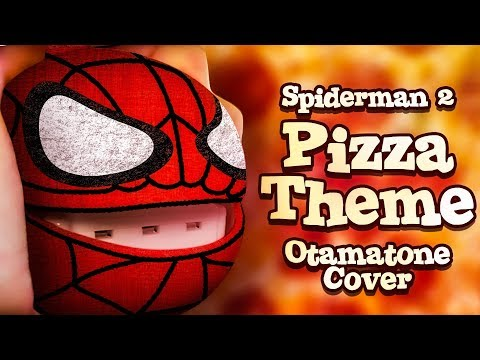 Spiderman 2 Pizza Theme - Otamatone Cover