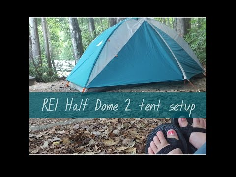REI Half Dome 2 Tent Setup And Review (June 2016)