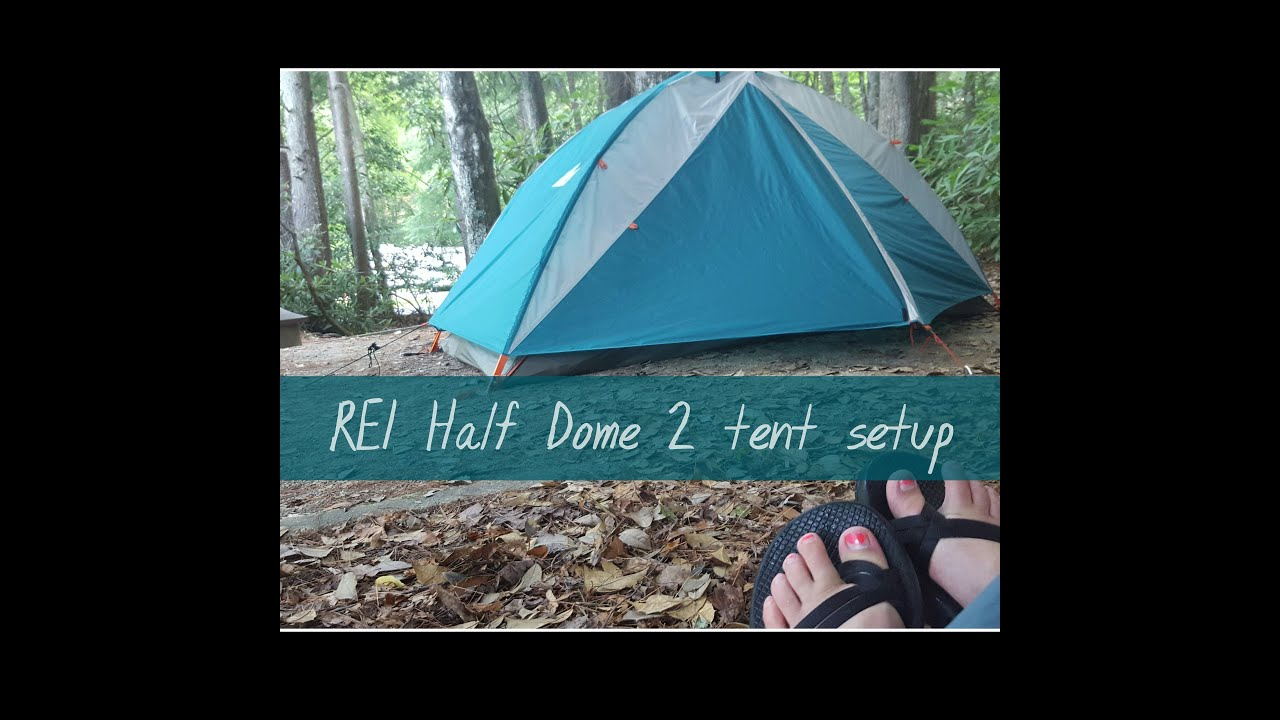 REI Half Dome 2 Tent Setup and Review (June 2016)  sc 1 st  YouTube & REI Half Dome 2 Tent Setup and Review (June 2016) - YouTube