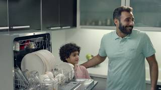 Midea Dishwasher (Arabic)