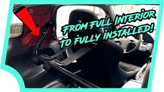 How to Install a Racing Harness Bar (240SX)