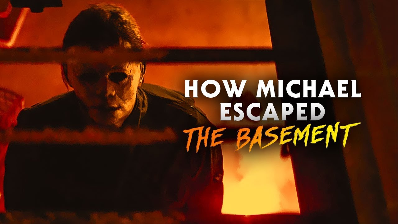 Halloween 2020 Myers Basement Fire How Michael Escaped the Basement | Halloween Kills (2020) Intro