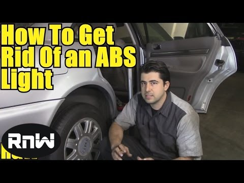How to Get Rid of ABS Trac Off Lights - How to Test an ABS Sensor