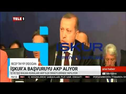 AKP Mersin Bozyazı İşkur Skandal Tele 1 Haber 31 Ekim 2018