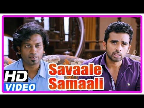 Savaale Samaali Tamil Movie | Scenes | Ashok Selvan Tries Convincing MS Bhaskar | Jagan