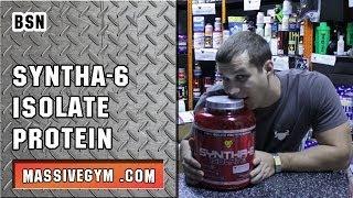 MG Обзор - Протеин Syntha 6 Isolate (BSN) - MassiveGym.com(Спортивное питание: http://www.massivegym.com/ Подписка на канал: http://www.youtube.com/channel/UCok_rmbXC56tRTNeeaDiUGQ Вконтакте: ..., 2013-11-14T23:02:47.000Z)