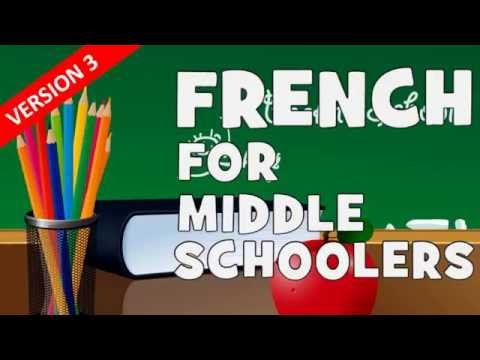 French for middle schoolers [Version 3] # Day 1