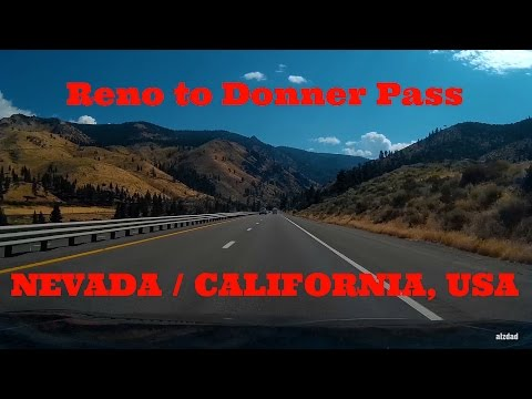 Reno NV to Donner Pass CA | The 50 50 Challenge Dashcam