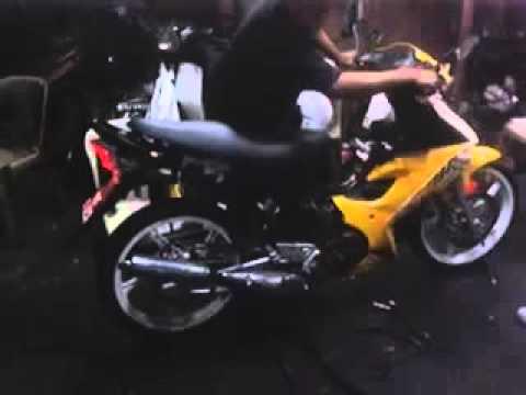 2) Set Carb Rxz mili + Ekzos Dinamik Operate Selapis Piring ( Hery Motor Sports Sentul )