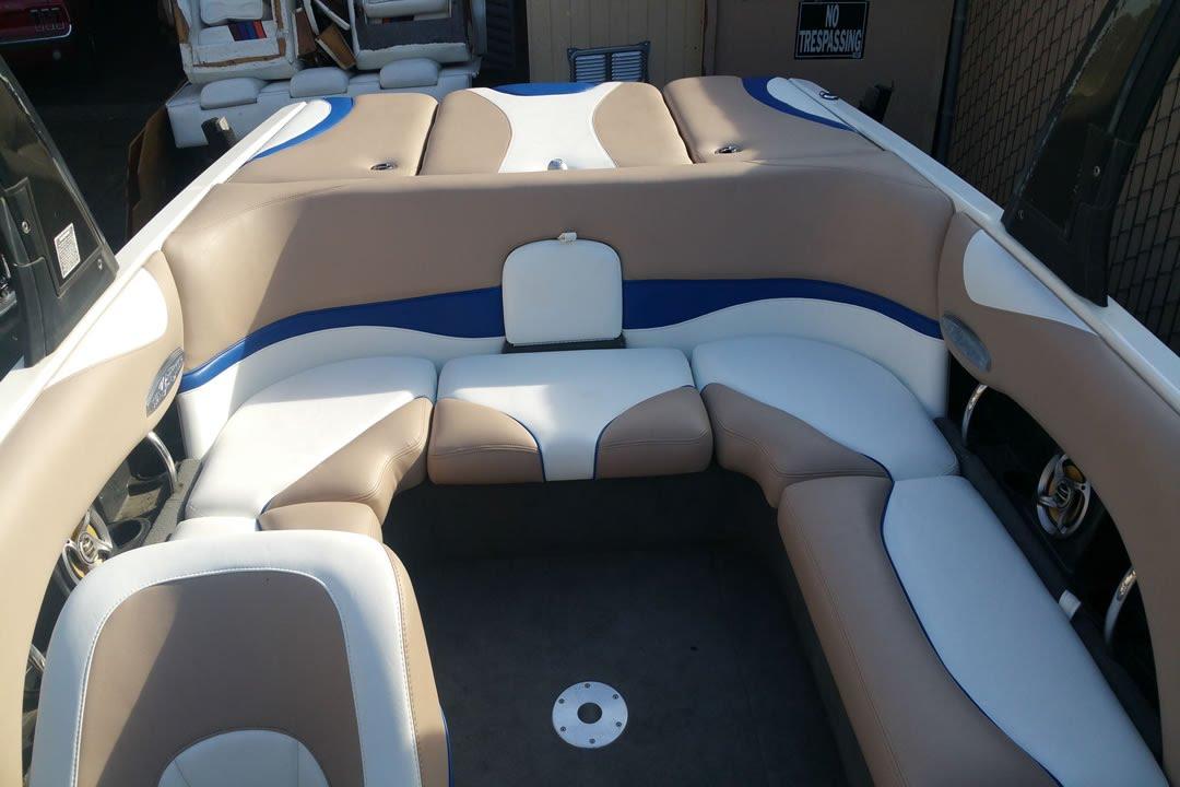 Reupholstering Boat Seats