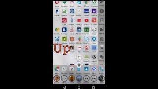 SpeedAP - Home Screen scroll UP & Down