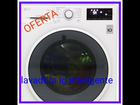 lavadora lg la lavadora con inteligencia artificial(OFERTA)