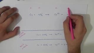 Redoks tepkimesi denkleştirme-2 (Asidik - bazik ortam , yarı tepkimeler yöntemi)