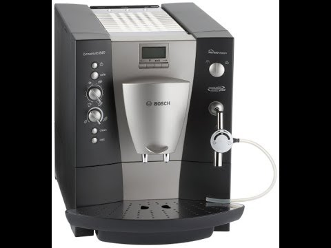 инструкция для кофемашины bosch benvenuto b20