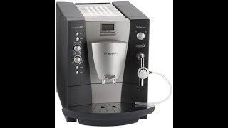 Bosch benvenuto B40 автоматическая кофемашина с капучинатором. Приготовление латте. Видео работы(Кофемашина Bosch b40 полностью в рабочем состоянии. Узнать подробней или купить можно на сайте - coffedoma.com.ua., 2016-06-30T08:21:05.000Z)