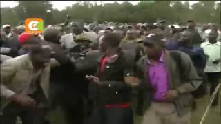 Chaos as Governor Kinuthia, opponent supporters fight