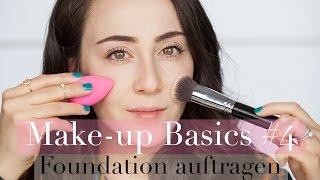 Foundation richtig auftragen I  Methoden & Arten I Make-up Basics #4 I Hatice Schmidt