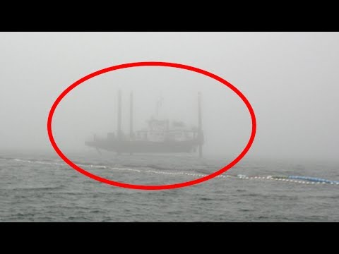 5 Ghost Ships Caught on Camera & Spotted in Real Life