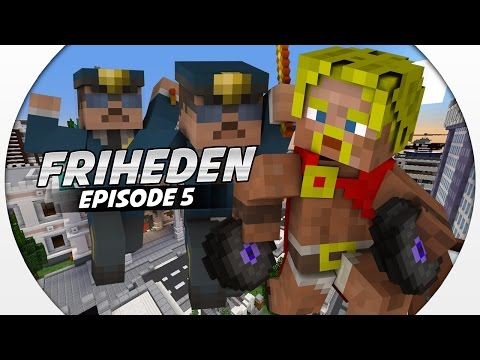Dansk Minecraft :: Friheden: RØVER CASINOET FORAN POLITIET!! #5