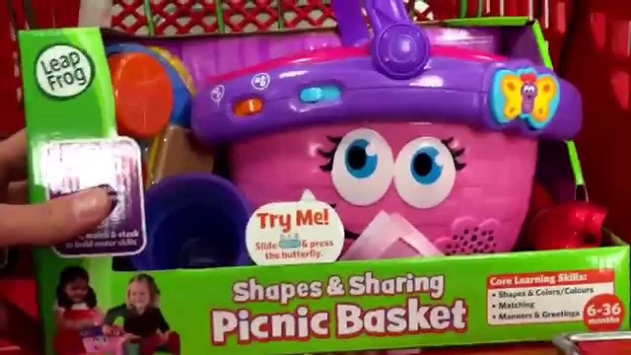 Leapfrog Shapes Sharing Picnic Basket Toddler Singing Light Up