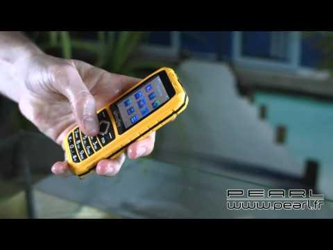PX3899 - Téléphone portable étanche Outdoor ''XT-680''