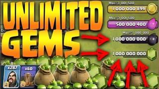 How to hack clash of clan online game (unlimited gems , coin and everything)is real hack game