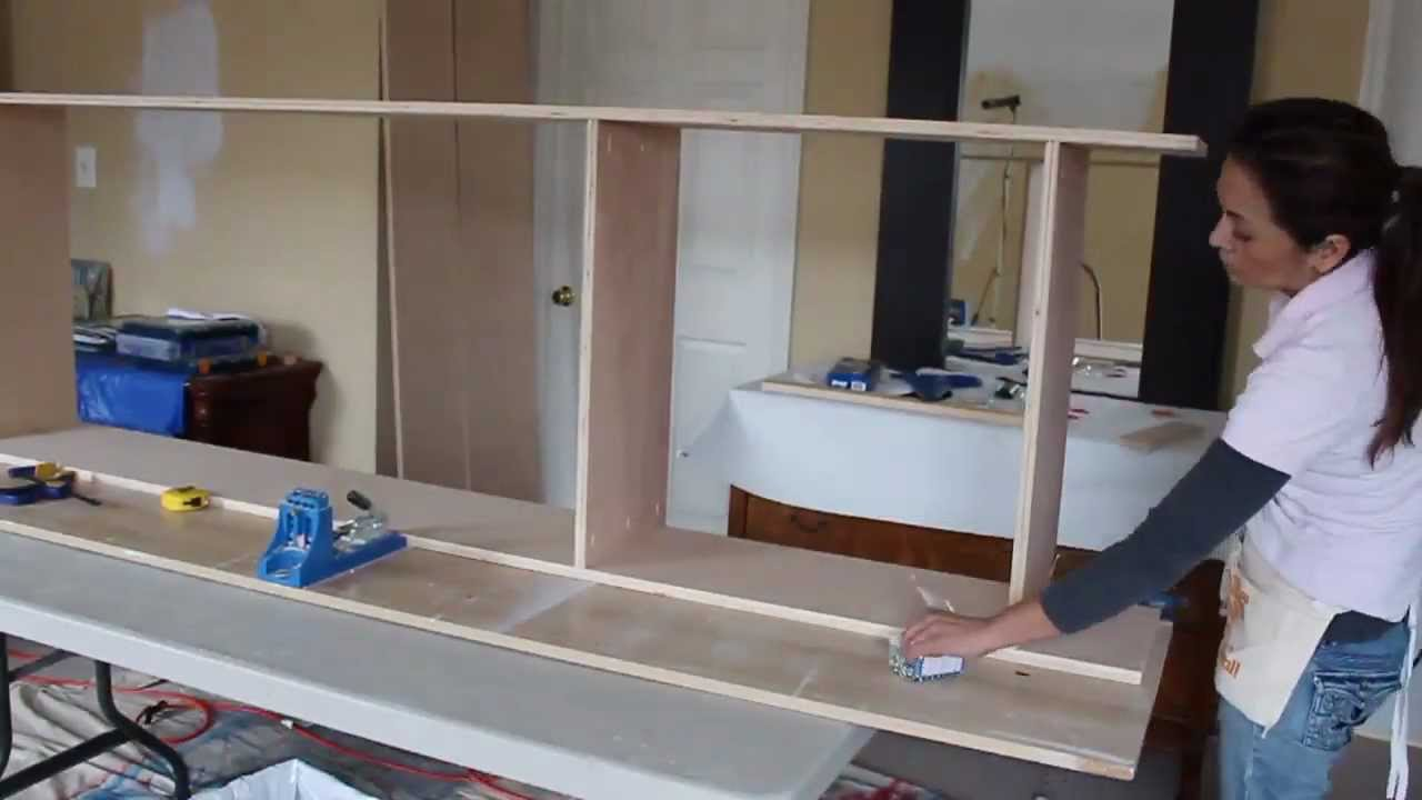 Building Bookshelves With Kreg Tools Part 1