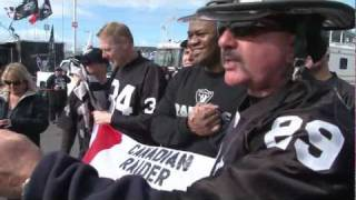 """International"" Raider Nation Tailgate Party in Oakland - Broncos 11/6/11"