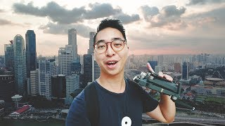 I got told to stop flying my drone over the Singapore River | VLOG 07