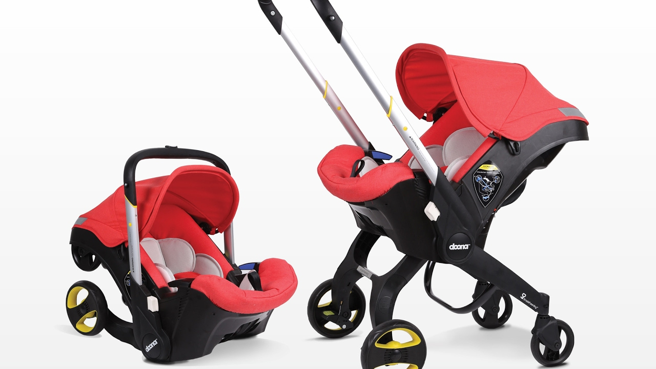 The Doona Infant Car Seat Stroller - YouTube