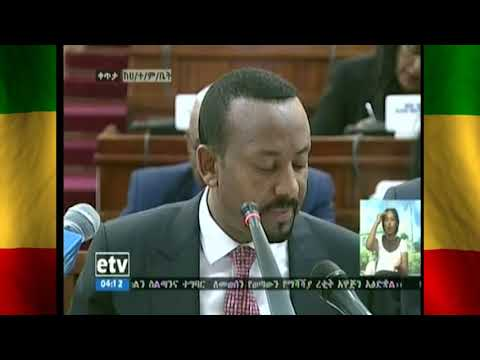 Breaking News: Prime Minister Dr Abiy Ahmed names new cabinet
