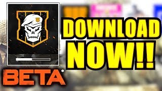 (BO4 Beta / Blackout) Pre Download NOW! - How To Download Black Ops 4 Beta PS4,PC & Xbox One