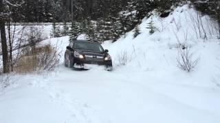 Subaru Outback - Snow Test Drive - Impressive