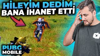 DÜŞMANA HİLEYİM DEDİM BANA İHANET ETTİ / PUBG MOBILE