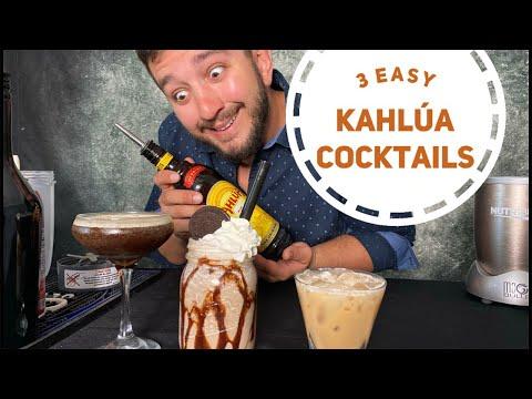 3 Kahlua Cocktail Recipes | How to make Mudslide, White Russian & Espresso Martini | ALCOHELLO