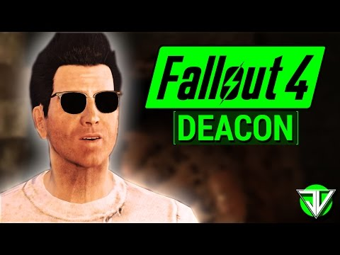 FALLOUT 4: Deacon COMPANION Guide! (Everything You Need To Know About Deacon in Fallout 4!)