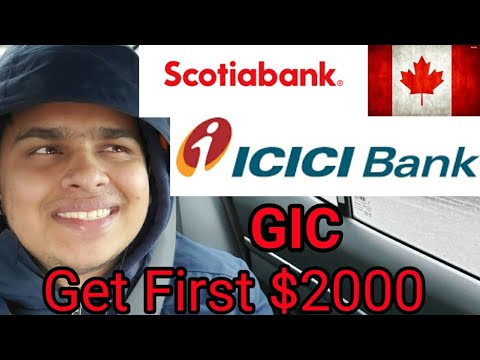 How To Get Your First $2000 GIC From Bank