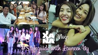 Working on my Birthday with Laureen Uy #Styleguide at SM Premier | XanaVlogs