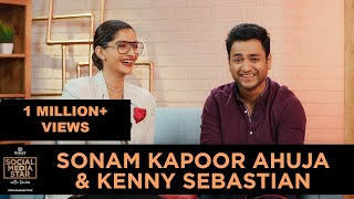 &#39Social Media Star with Janice&#39 E09 Sonam Kapoor Ahuja &amp Kenny Sebastian