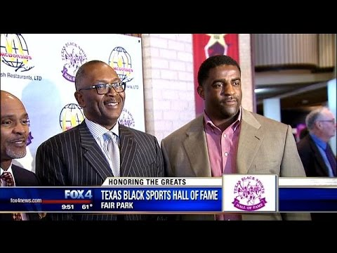 Sports legends inducted into the Texas Black Sports Hall of Fame