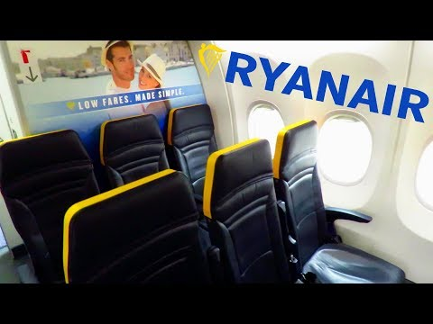 TRIP REPORT   RYANAIR (NEW CABIN)   Madrid Barajas To Glasgow   Full Flight With Meal!