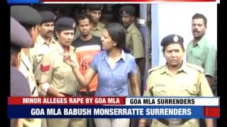 Goa MLA Booked for Raping Minor
