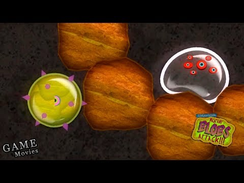 Суровый Лизун Глазастик Съел ВСЕ! Мульт Игра Tales from Space Mutant Blobs Attack