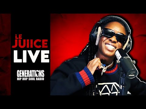 Youtube: Le Juiice«Drip en stock»  – Live Generations